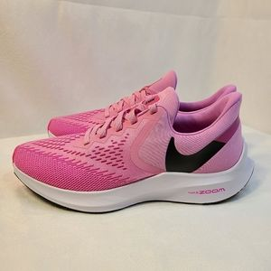NEW Nike Zoom Winflo 6 Running Shoes Psychic Pink